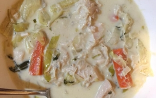 Marney's chicken soup